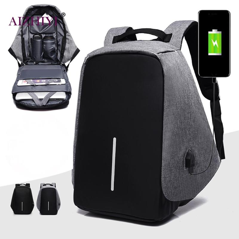 Anti Theft Men Laptop Backpacks Multifunction USB Charge 15inch Laptop Backpacks School Bag Mochila Leisure Male Travel Backpack sopamey usb charge men anti theft travel backpack 16 inch laptop backpacks for male waterproof school backpacks bags wholesale