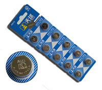 Three Generation Button Battery AG13 L1154 LR44 303 RW32 357A Electronic Watch Battery Li Ion Cell