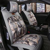 New Car Seat Cover,Universal Seat Cushion,Advanced Plush Sport Car Styling,Car-Styling For Sedan SUV