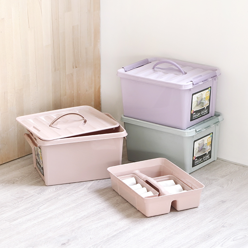 Large Layered Plastic Toys Laundry Storage Box Multi functional Clothes home storage organization Medicine Tool Organizato'r