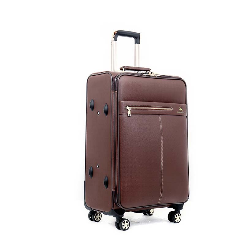 PU Leather Rolling Luggage Spinner Men Business Trolley Password Suitcase Wheels 20 inch Carry On Travel Bag Trunk oxford rolling luggage spinner men business suitcase wheels 20 inch carry on trolley password 30 inch high capacity travel bag