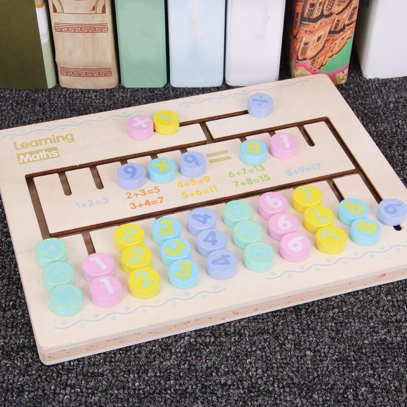 matemática brinquedo auxiliares de ensino labirinto digital