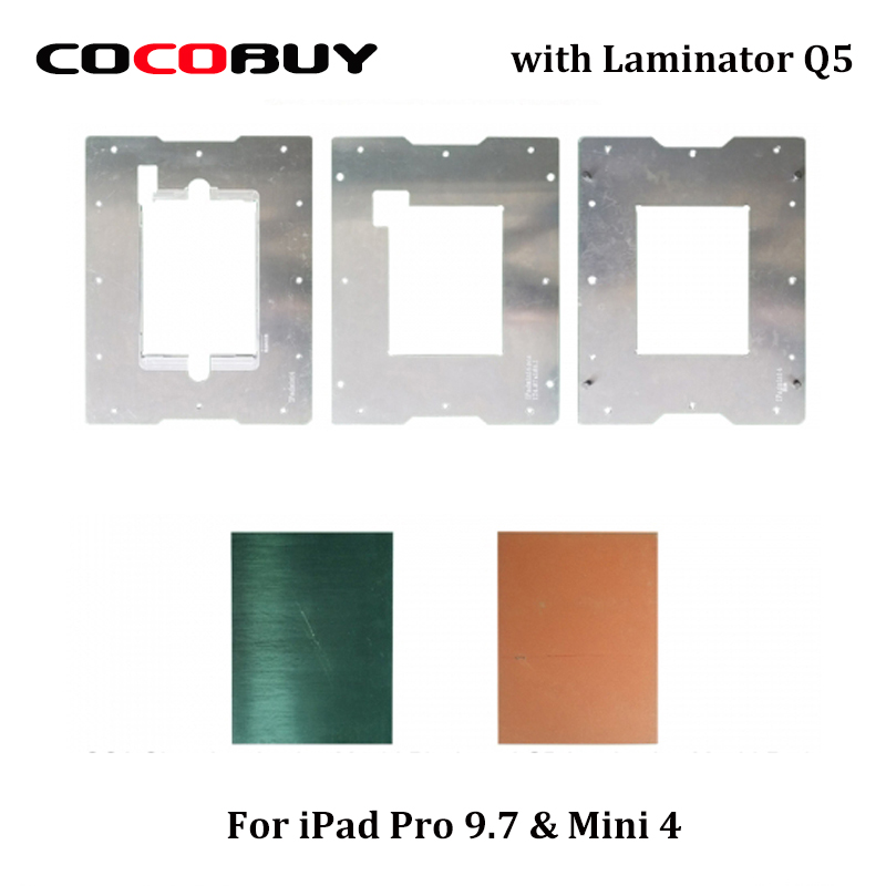 Novecel For iPad Pro 9.7 For iPad Air 2 For iPad Mini 4 Laminating Mold and Alignment Mould