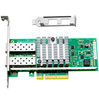 X520 DA2 10GBase PCI Express X8 82599ES Chip Dual Port Ethernet Network Adapter E10G42BTDA SFP Not
