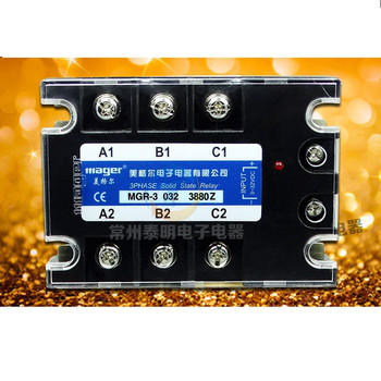 AC three-phase solid state relay MGR-3 A3880Z AC-AC relay 80A 380V