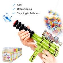 45000 Pcs/Box Water Gun Bullet Toy Orbeez Soft Crystal Water Paintball Gun Bullet Grow Water Beads Balls Outdoor Orbita Gun Toy