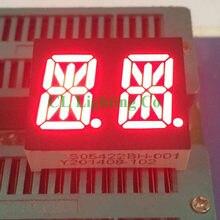 25.2*21.1*7.9mm rouge Nixie tube 0.54 pouce TUBE numérique 2-Bit LED 16 segments affichage Anode commune
