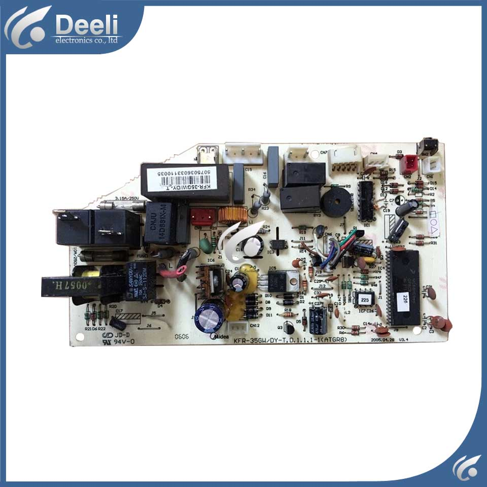 95% new good working for of air conditioning computer board motherboard KFR-35G/DY-T1 KFR-35GW/Y-T used board indoor air conditioning parts mpu kfr 35gw dy t1 computer board kfr 35gw dy t used disassemble