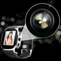 Women Men Sport Bluetooth Smart Watch Bracelet Camera Facebook Whatsapp Support SIM TF Card Call Smartwatch For Android Phone