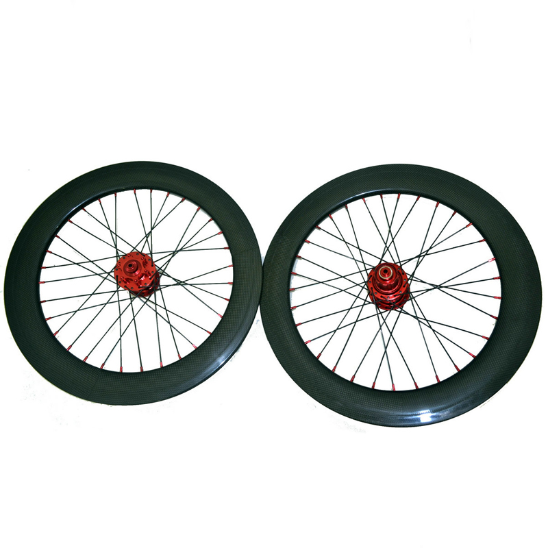 SEMA T700 20 inch 406 carbon wheelset clincher bicycle wheels with chosen rims for road bikes parts pecas para bicicleta 80818