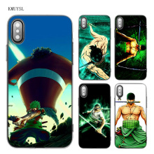 Roronoa Zoro TPU Transparent Soft Case Cover for iPhone