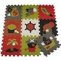 Мягкий коврик детская складывающейся ползет ковры детей детская игра-головоломка коврик пены коврик для ребенка игры ковер ковер одеяла