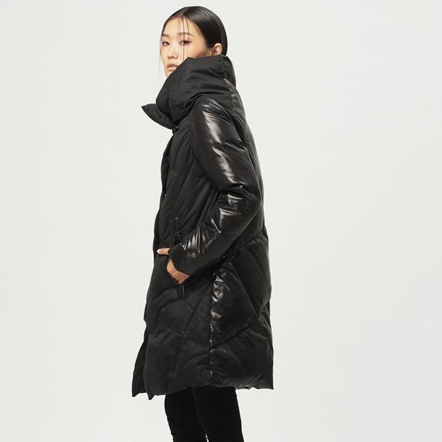 [XITAO] Nuevo invierno Coreano viento breve manga regular completo color sólido spliced espesor estándar mujeres abajo y abrigos esquimales, BCB-010