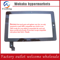 Free Shipping 10 6 Touch Screen100 New For Chuwi VI10 PRO 64GB Touch Panel With Frame