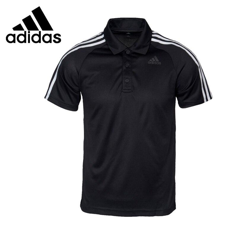Original New Arrival 2017 Adidas D2M 3S POLO Men's POLO short sleeve Sportswear adidas original new arrival official originals s s camo color men s t shirts short sleeve sportswear cd1696