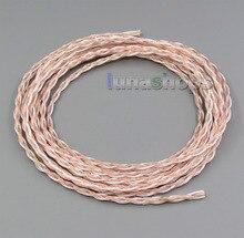 1 m 16 hilos 7*0.1 Plateado Mixto OCC Cable Auriculares Auriculares DIY Personalizado LN005277