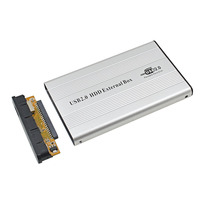 Tishric externo usb 2.0 ide recipiente para disco rígido driver hdd caixa gabinete adaptador para 2.5 gb 500 gb 1 tb ssd dvd optibay|ssd dvd|external usb|dvd ssd -