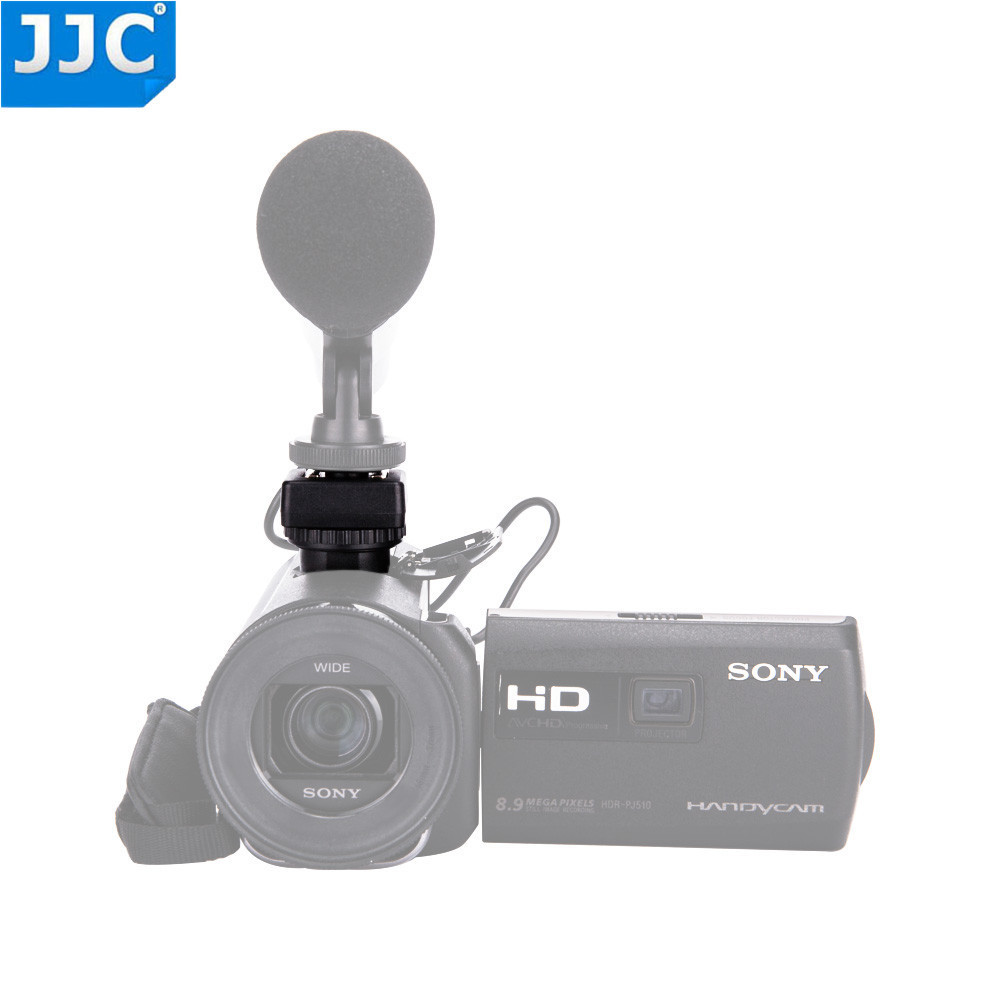 7638241760a1 JJC MSA-MIS Cold shoe adapter converts your Sony Multi interface shoe to a  standard cold shoe. It fits all Sony camcorders with the Multi interface  shoe