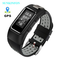 DB13 GPS Motion Track Record Smart Wristband Sports Band Dynamic Heart Rate Waterproof Bracelet For Samsung