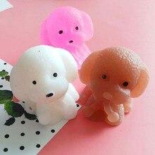 น่ารักของเล่นตลก Antistress Shar Pei Dog Puppy สำหรับเด็ก,เด็ก,เด็กทารก,เด็กวัยหัดเดิน,ผู้ใหญ่ Venting ของขวัญของเล่นเพื่อการศึกษา