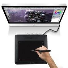 Huion 8x 6 Inches 4000LPI 200PRS 2048 Pen Sensitivity Graphics Drawing Pen Tablet + Battery Pen Compatible With Windows Mac 680S