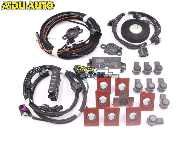 USE FOR VW Golf 7 MK7 VII Front and Rear 8K OPS Parking Pilot 5Q0 919 294 K LHD UPGRADE KIT 5Q0919294K