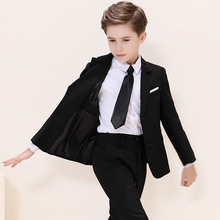 Boys small suit boys tuxedo children suit  flower girl dress boys suits formal boys suits for weddings casual British style