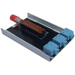 Image 5 - Ghxamp 3.5mm אודיו אות switcher 2 קלט 1 פלט בורר עם אלומיניום מעטפת אוזניות אודיו מתג לוח 1pc