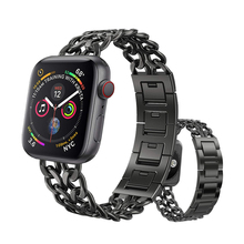 link bracelet strap for apple watch 4 3 band 44mm 40mm 42mm 38mm correa stainless steel watchband for iwatch series 4/3/2/1 цена