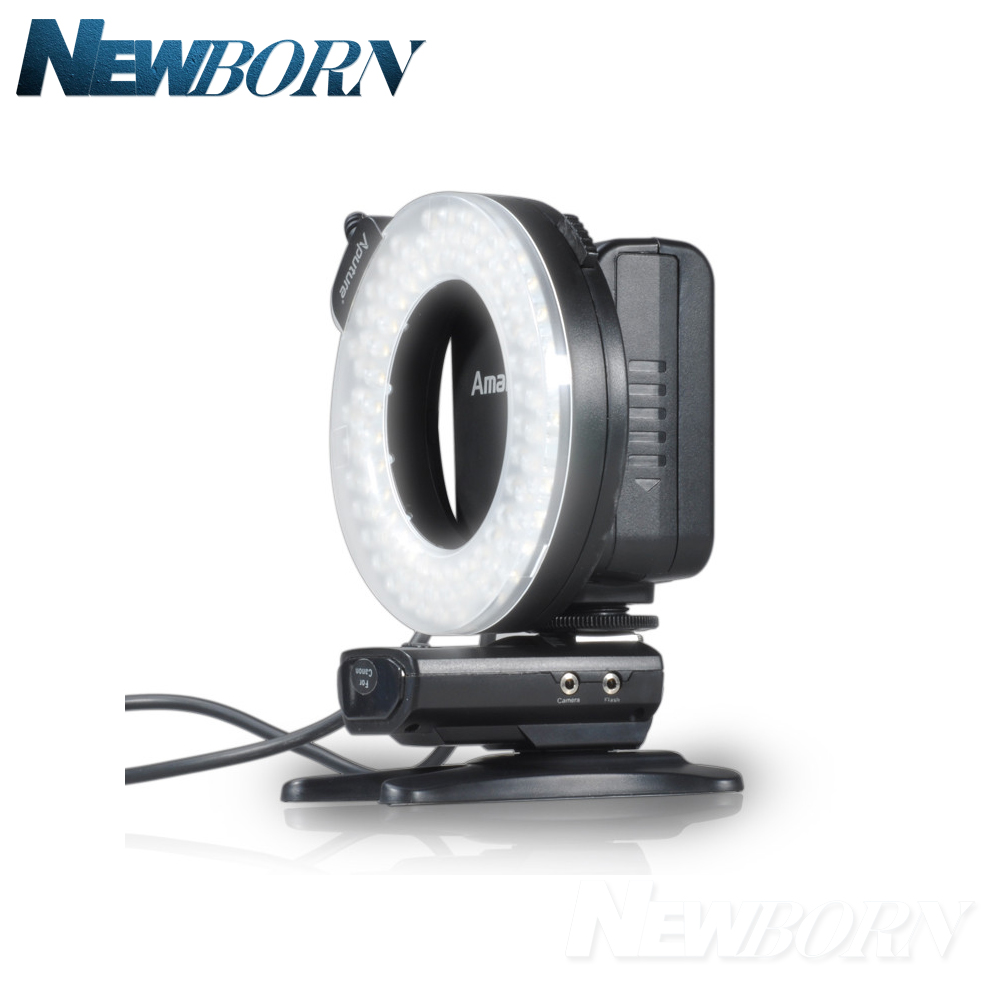 Aputure Amaran Halo AHL-HC100 LED Ring Flash Light For Canon Camera DLSR Cameras 5D MARK II III 650D 550D 700D 7D 5D2 60D replacement lpe6 7 4v 1800mah battery pack for canon eos 5d mark ii 5d2 60d 7d