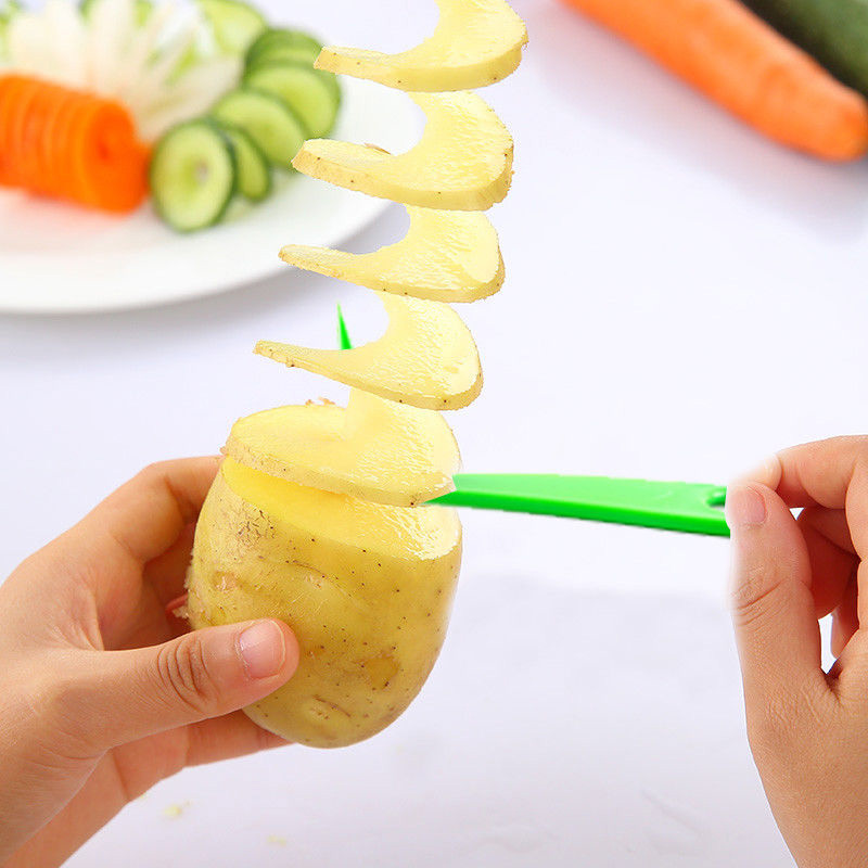 Hot New Kitchen Cutting Creative Fruit And Vegetable Spiral Slicer And Vegetable Pattern Carved Flowers Hogard