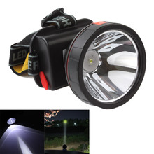 Rechargeable Headband LED Light Headlight Headlamp Torch with Built-in Battery + Charger