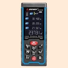 SNDWAY Entfernungsmesser HD Großes Display Laser-distanzmessgerät Länge/Bereich/Volumen/Pythagoras Mess Meter Digitale Laser-entfernungsmesser