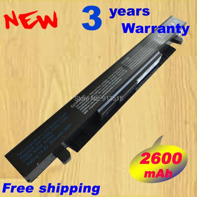 Nueva F552 para ASUS A41-X550A batería para ASUS A450 A550 K450 K550 celdas