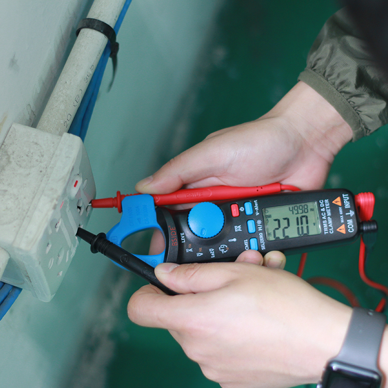BSIDE Digital Clamp Meter AC/DC Current True RMS Auto Ranging ...