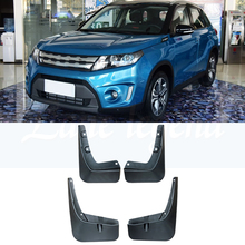 FRONT REAR SET FIT FOR SUZUKI VITARA 2015 2016 2017 ESCUDO MUDGUARDS MUD FLAPS FLAP SPLASH GUARDS MUDFLAPS FENDERS KIT MUD GUARD шапка crockid размер 50 52 светлая бирюза
