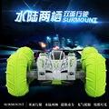 Inteligente brinquedo elétrico criança carro dublê de controle remoto carro de alta velocidade com pneus infláveis + LED light + bateria recarregável VS L80