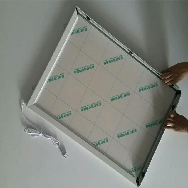 A4 clip de aluminio cartel Marcos LED cajas de luz, LED ...