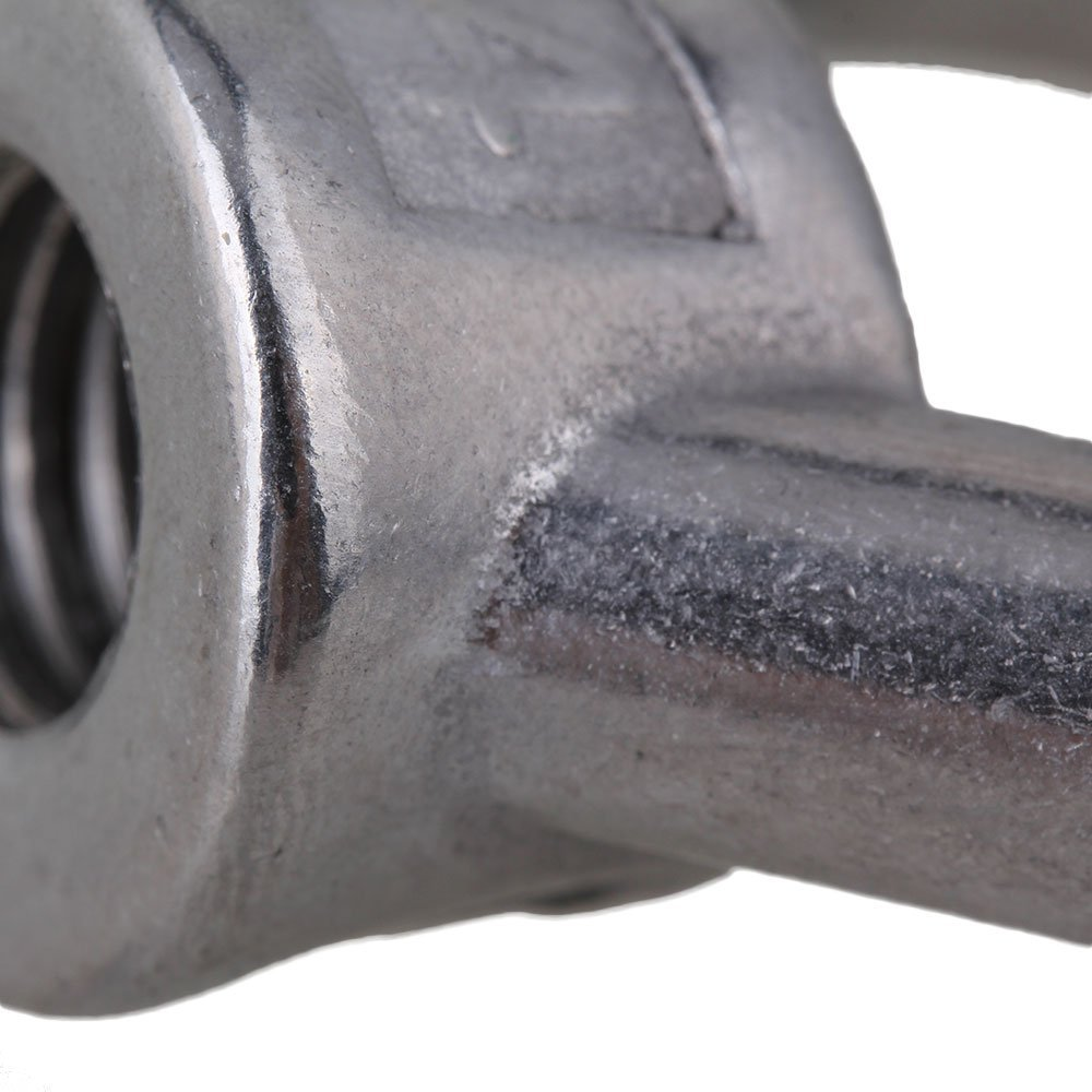 Dreieck Form Silber 304 Edelstahl M12 Eyed Gewindemuttern Hebe ...