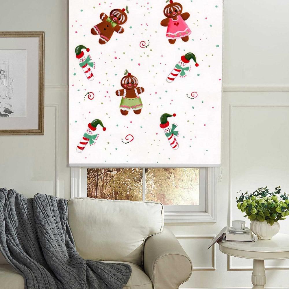 MOMO Christmas Roller Blinds Blackout Design Window Blinds ...