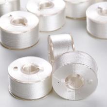 Simthread 12 Janome шпульки предварительно обмотанные шпульки для большинства швейных машин Janome как нижняя нить стиль белый черный или цвета