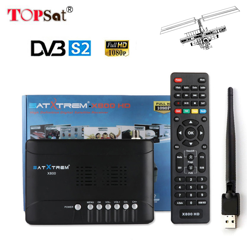 DVB-S2 MPEG4 Satellite Receiver Receptor HD TV Tuner DVB-S2 Support CLINES PowerVu bisskey WiFi AC3 batter than V7 HD S2020 hellobox gsky v7 5pcs hd powervu autoroll iks ccam dvb s2 receiver tv box better than freesat support tandberg patch