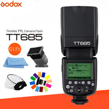 Godox TT685 2.4G Wireless HSS 1/8000s TTL Camera Flash Speedlite + Flash Diffuser kit for Nikon Canon Sony Olympus Fujifilm