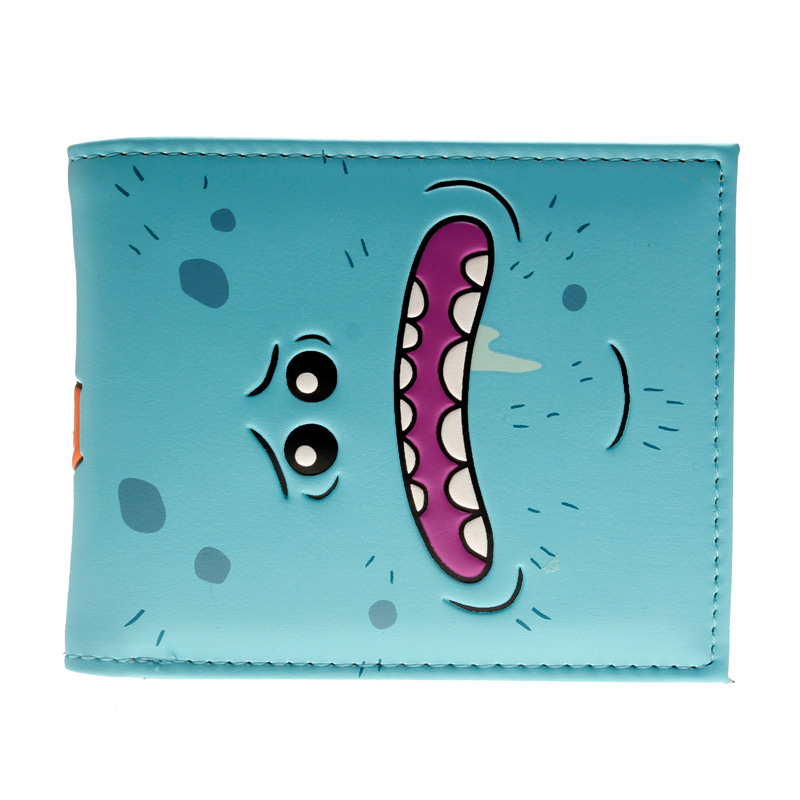 Rick and Morty PU Faux Leather Bifold Wallet DFT-10112 playstation console shaped bifold pu wallet dft 10101