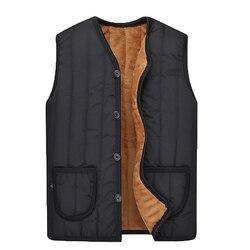 10a05672b6785 The North Jacket Men Clothes Modis 2019 Fashion Winter Coat Military Man  Vest Parka Outerwear Plus