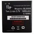 Замена Высокое Качество Аккумулятор Телефона BL8008 1400 мАч Для Fly Moblie Телефон