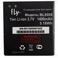 Reemplazo De Alta Calidad BL8008 1400 mAh de la Batería Del Teléfono Para Fly Moblie Teléfono