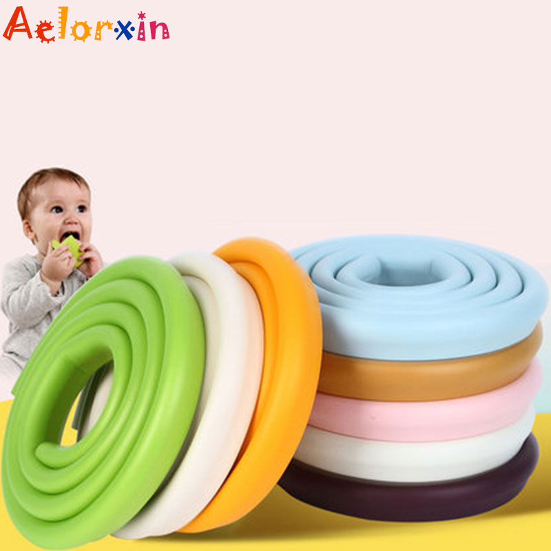 Baby Safety 2M Length U-shaped Table Guard Strip Children Protection Baby Safety Products Glass Edge Furniture Corner Security