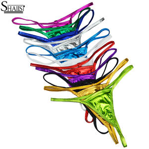 3e66719ce9b SHALISI Thong G String Underwear Sexy Panty Lingerie briefs