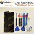 Pantalla lcd para xiaomi mi4c 100% nueva accesorios de reemplazo lcd + pantalla táctil para xiaomi mi4c mi 4c mi4c prime